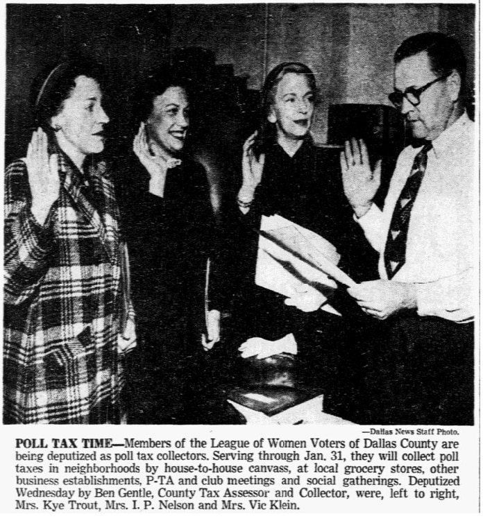 From the Jan. 11, 1951 edition of The Dallas Morning News