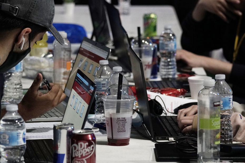 Hundreds of North Texas students participated in HackDFW.
