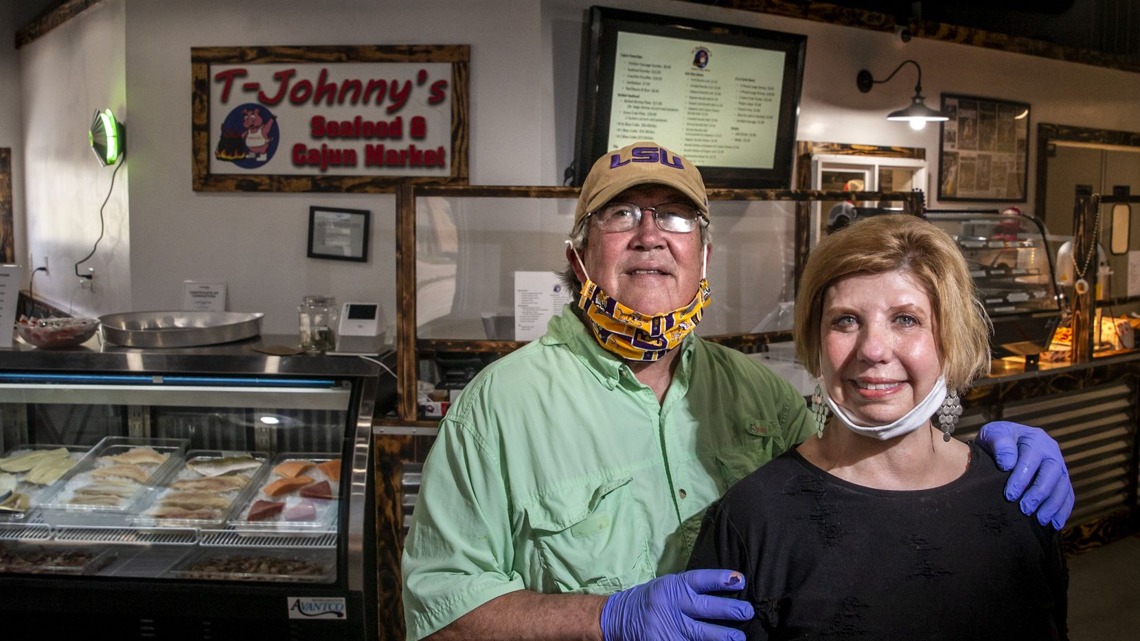 Phil Tullis and wife Deborah Allen-Tullis own The Cajun Market in Colleyville. They jumped to action on Fat Tuesday, when a nearby memory care facility put out a call for help.