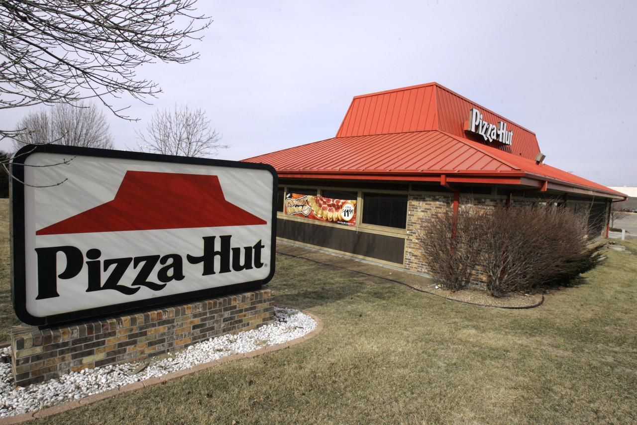 No more red roof? Late last year Pizza Hut franchisees agreed to a remodeling/rebuilding program that will give new and older a more uniform, modern look.