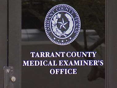 Tarrant County Medical Examiner's office in Fort Worth, Tex. (NBC5)