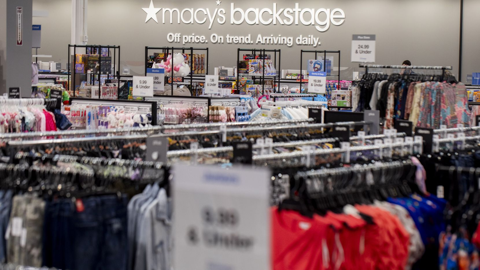 Macy's Backstage store in The Village at Allen opened in May 2021.