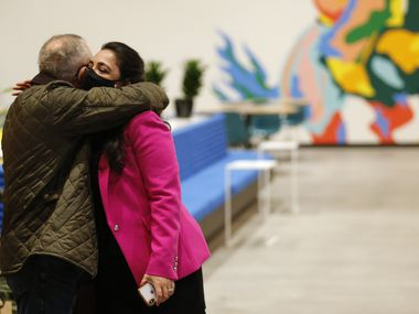 Democrats had high hopes that like congressional candidates like Lulu Seikaly would flip longstanding GOP seats, in Seikaly's case the one held by Rep. Van Taylor, R-Plano. But she and many other Democrats were defeated. (Vernon Bryant/The Dallas Morning News)