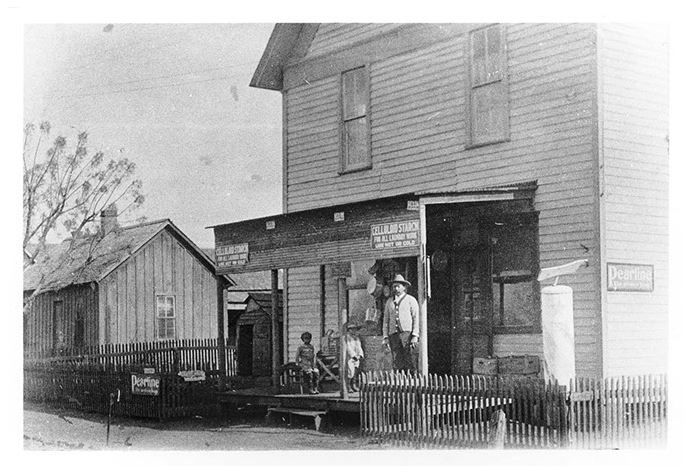 The Crawford store was one of many in the Quakertown community.