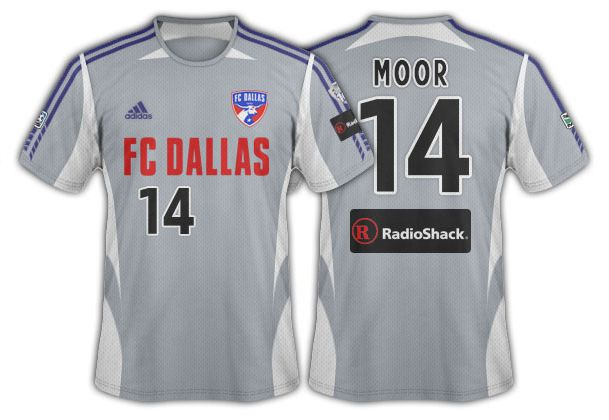2005 FC Dallas grey with white accents secondary.