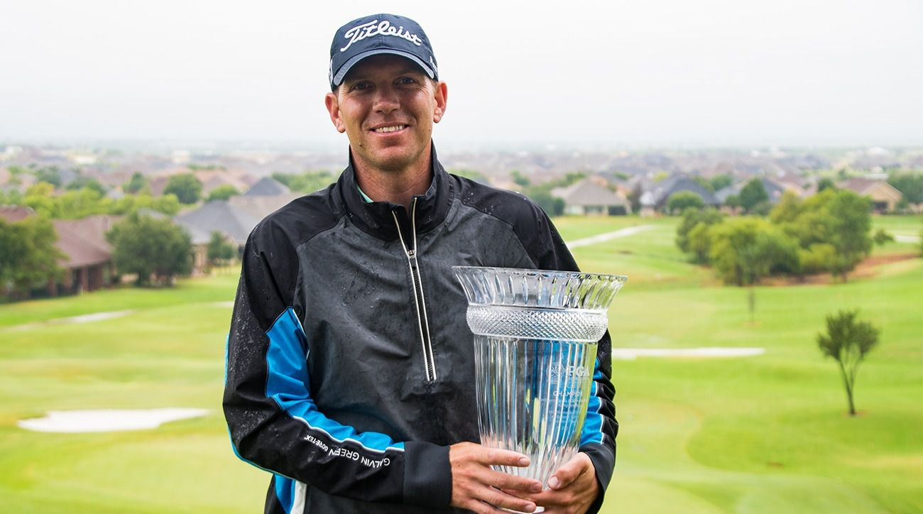 Brook Hollow Golf Club director of instruction Chad Moscovic successfully defended his title in the NTPGA Professional Championship on Wednesday, Aug. 18, 2021, at Wildhorse Golf Club at Robson Ranch for an 11-under 131 total.