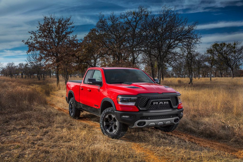 The 2020 Ram 1500 EcoDiesel has a towing capacity of 12,560 pounds.
