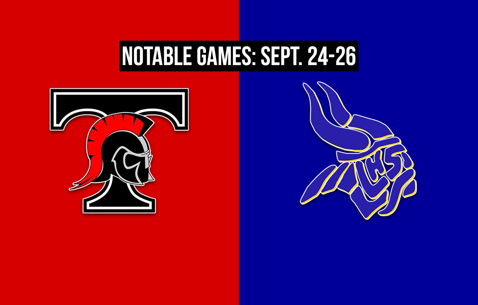 Notable games for the week of Sept. 24-26 of the 2020 season: Euless Trinity vs. Arlington Lamar.