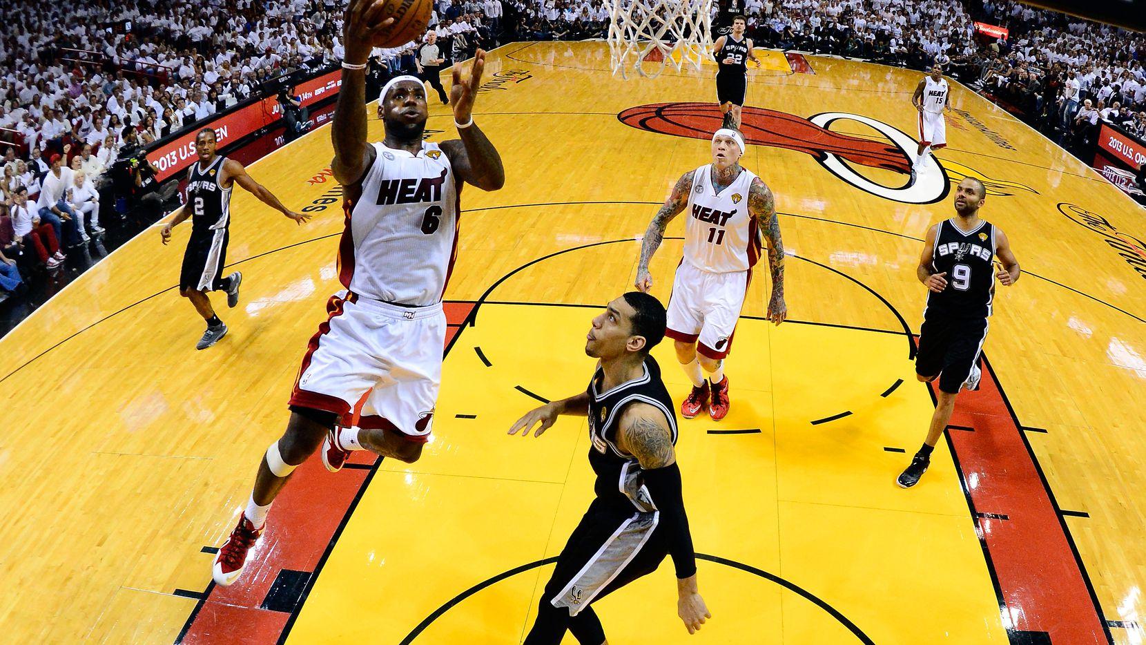 Heat Use 33 5 Run To Put Spurs Away Even Finals At One Apiece