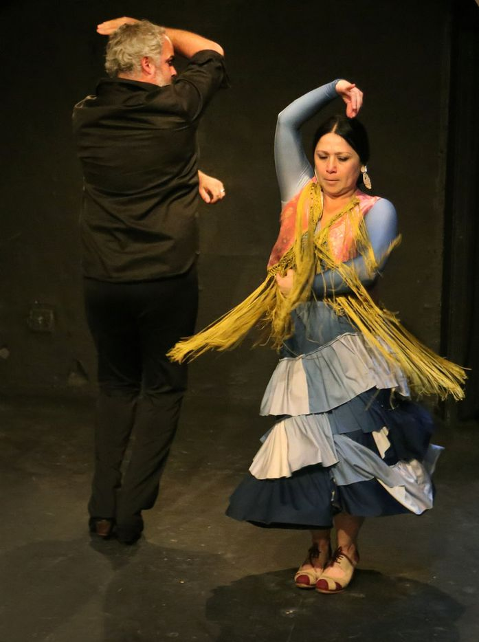 Antonio Arrebola and Delilah Buitrón Arrebola dance in the traditional Spanish flamenco style. In their latest collaboration with Ochre House Theater, Picasso: Matador de Málaga, they explore the painter's passions with the dance born in his native Andalusia.