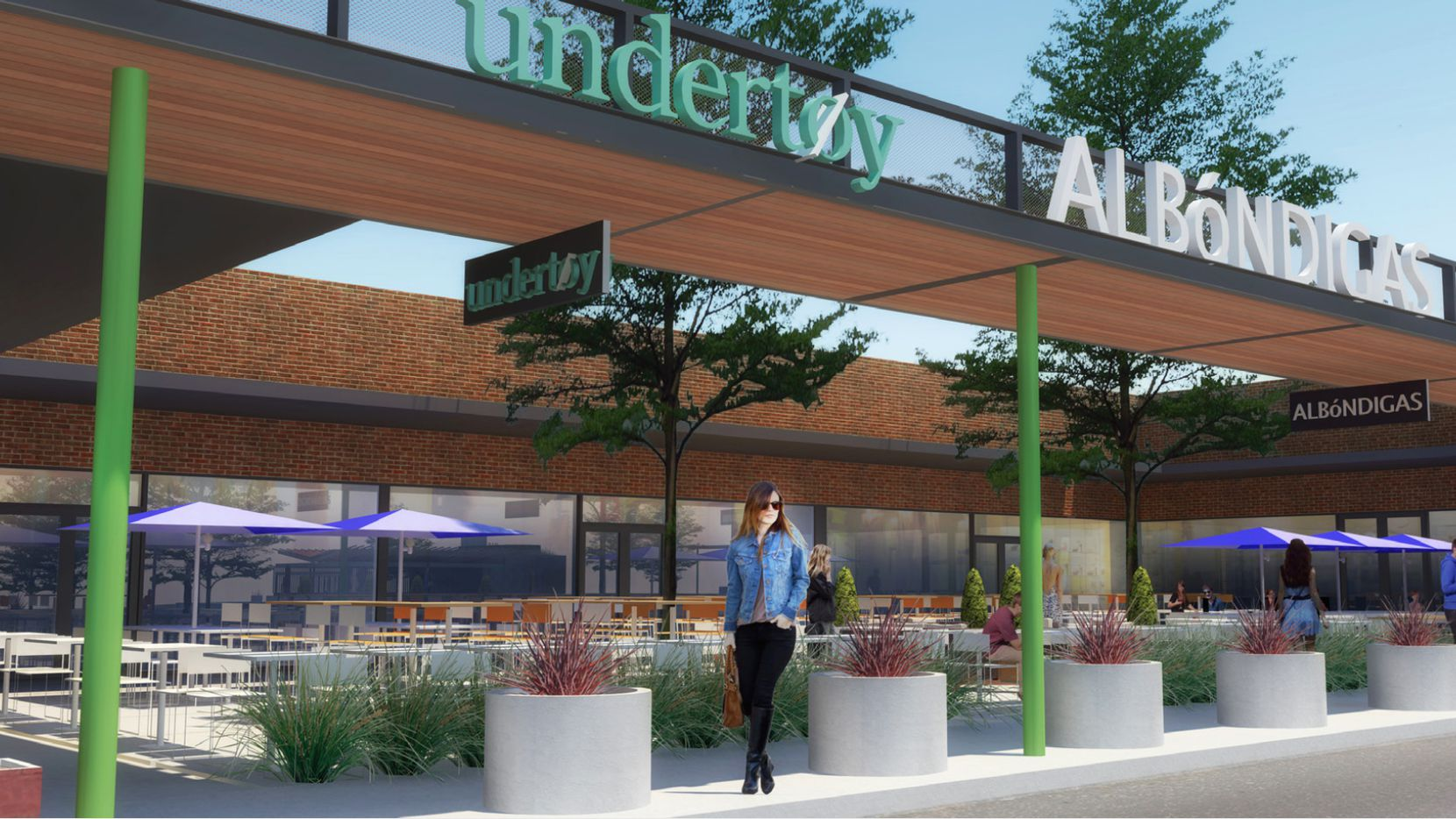 The half-century-old Lakeridge shopping center in Lake Highlands is being totally rebuilt.