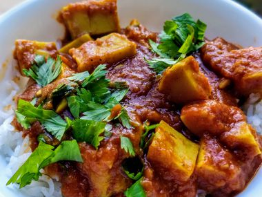 Jigisha Patel created Chikfu, a chickpea-based tofu.
