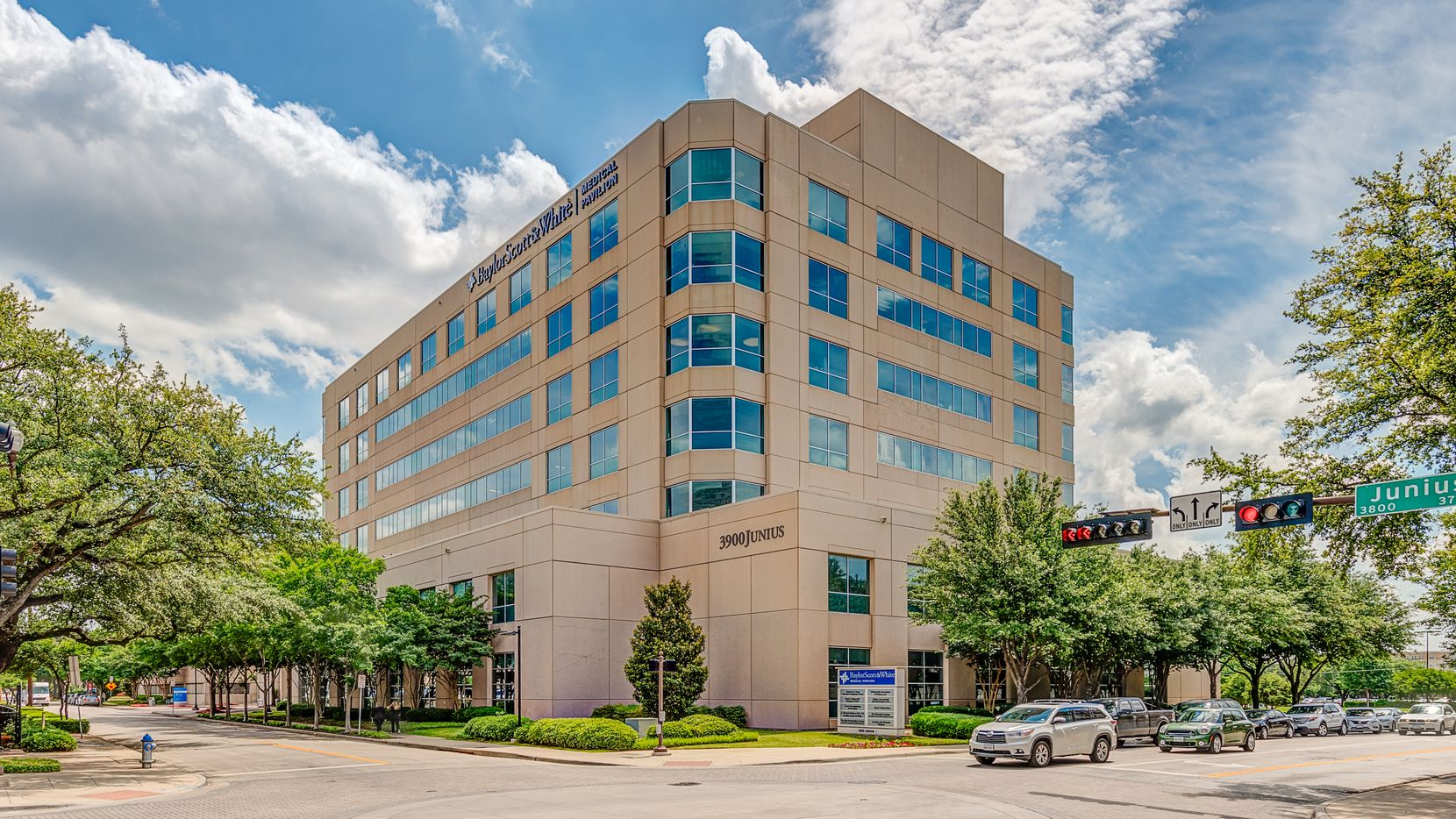 Prism Health North Texas is moving its head offices to a building on Junius Street on Baylor's campus.