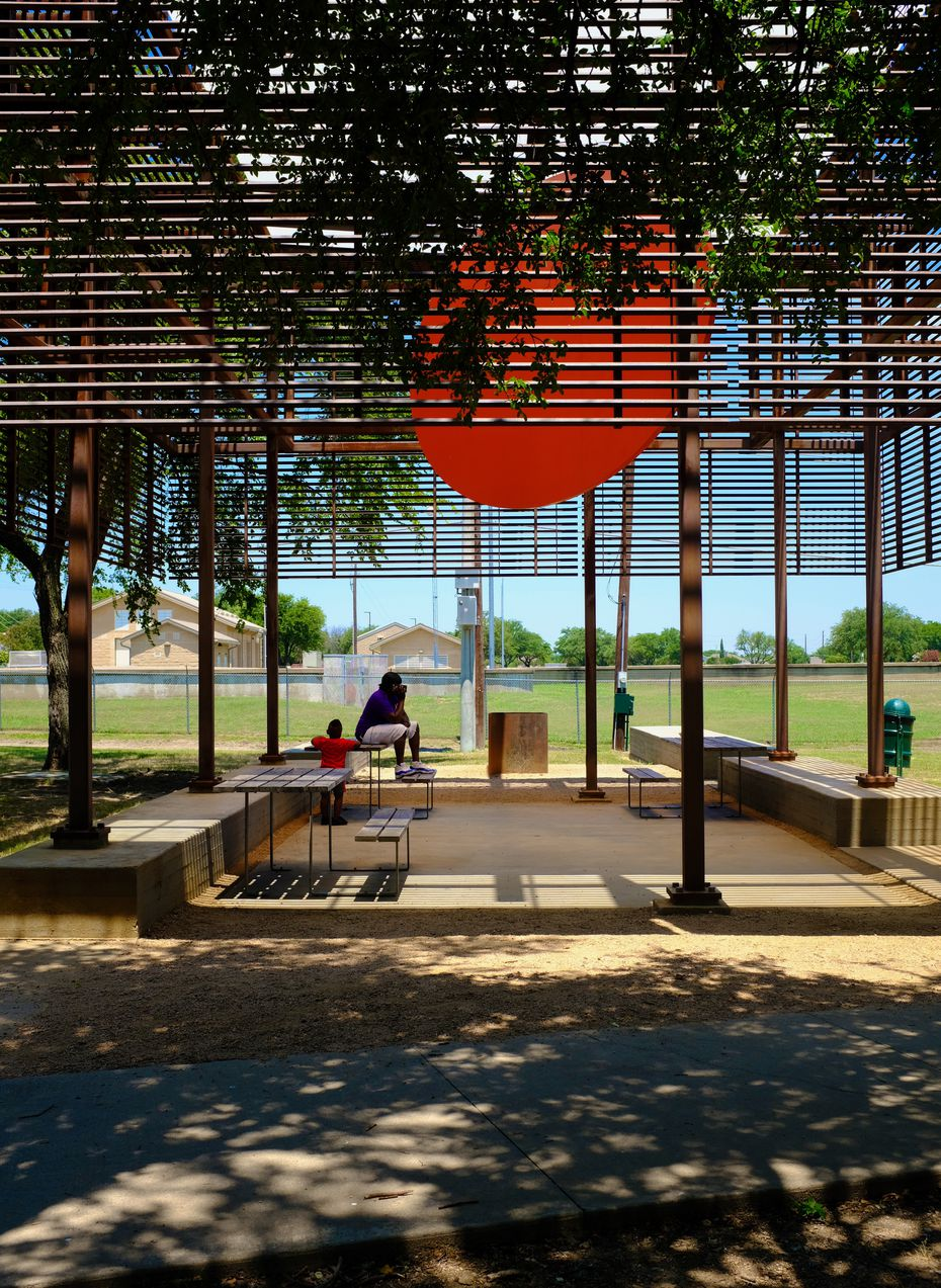 The Cotillion Park Pavilion, designed by Mell Lawrence Architects of Austin.