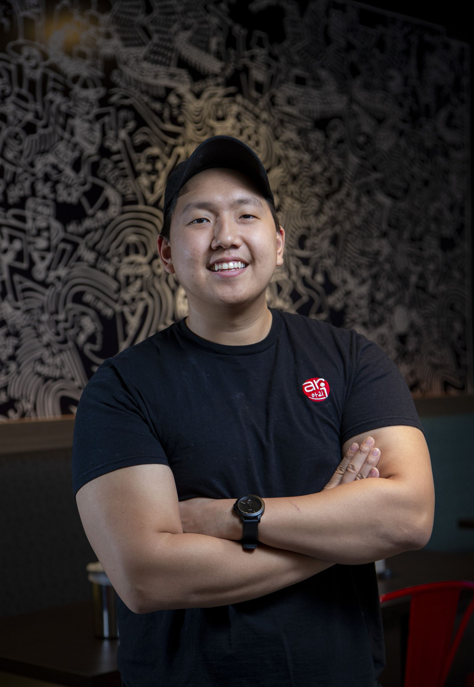 David Park co-owns Ari Chicken with his brother and mother.
