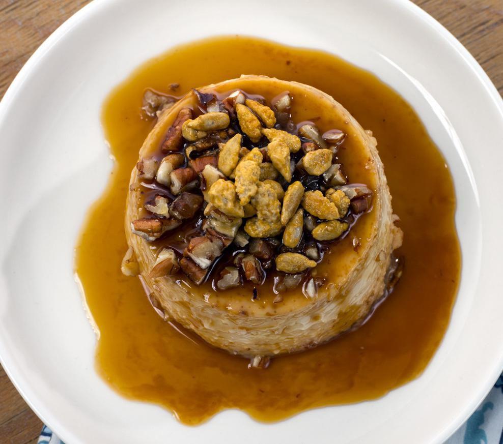Flan con Nueces, delicioso y fácil de hacer (AGENCIA REFORMA)