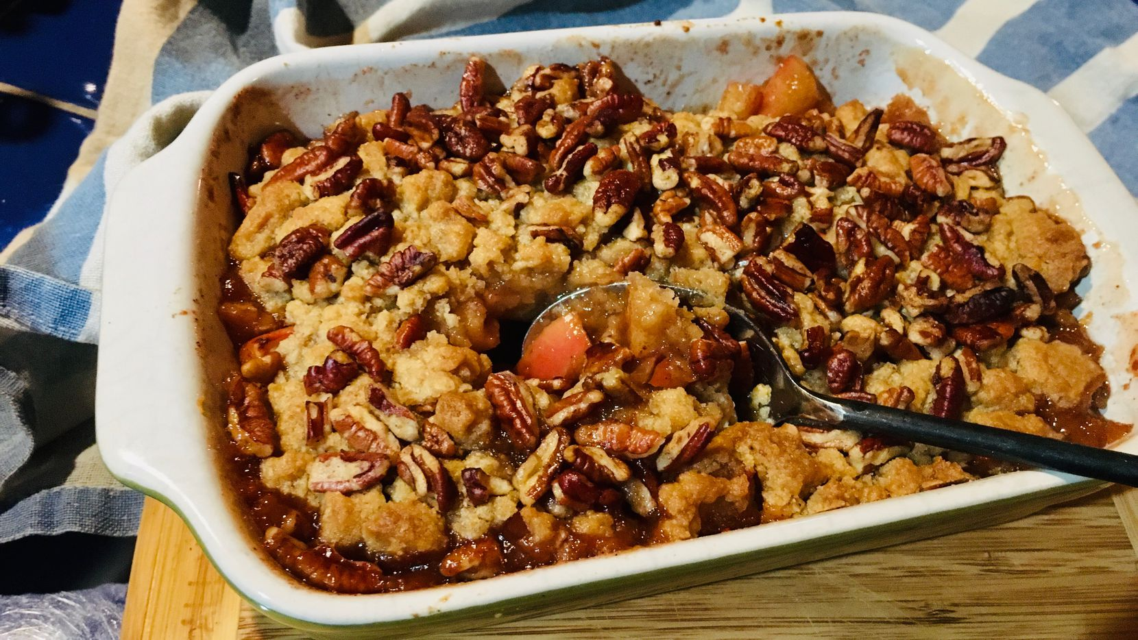 June Naylor's Apple Crisp