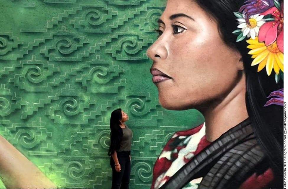El mural se ubica en la esquina de Doctor Olvera y Doctor Andrade, en la colonia Doctores de la Ciudad de México. (AGENCIA REFORMA)