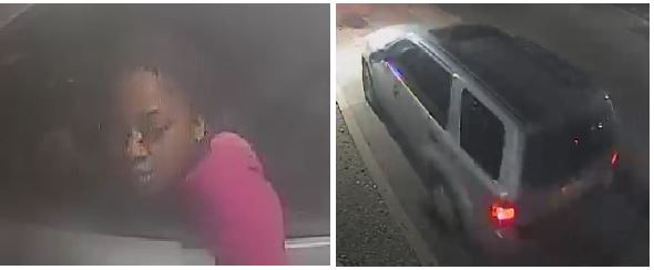 Police released these photos of a suspected vehicle and driver thought to be involved in a Feb. 9 robbery in Casa View.