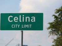 The property is nine miles southwest of Celina and one mile from the Dallas North Tollway.