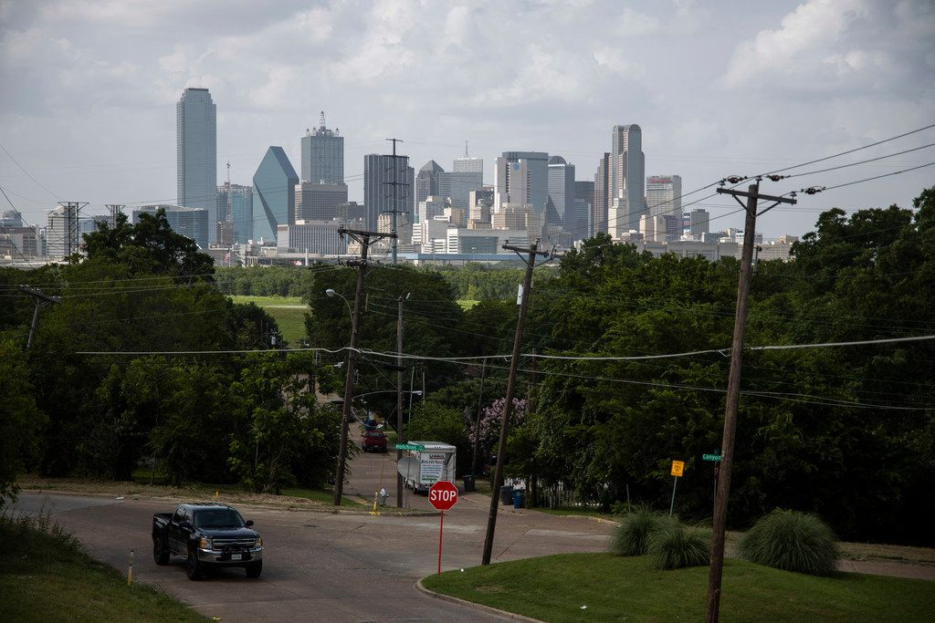 The Bottom lies in the skyline's shadow, but the city seems far away for most residents living in a part of the city more rural than urban in the 21st century.