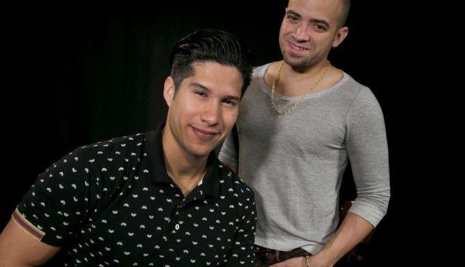 Chino (der.) y Nacho darán un concierto en Houston este sábado. (AP/RICHARD DREW)