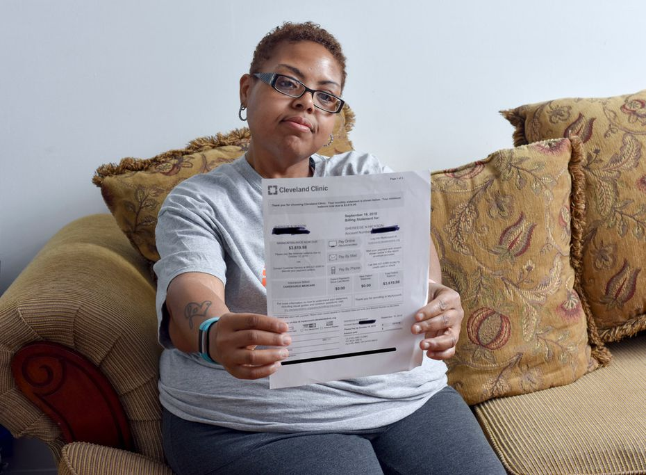 Hickson got a bill for about $3,620, the balance calculated as her share by the hospital after the insurance reimbursement. No one told her she qualified for financial assistance to cover her portion until she called the hospital.