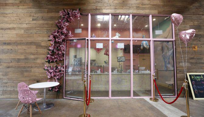 Entrada de Magical Dessert Bar en Dallas  (Rose Baca/The Dallas Morning News)