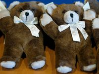Mothers Against Drunk Driving North Texas, which presented the Grand Prairie Police Department with teddy bears in 2017 to give to children in the aftermath of drunken driving accidents, was one of the organizations highlighted in Natalie Walters' award-winning story.