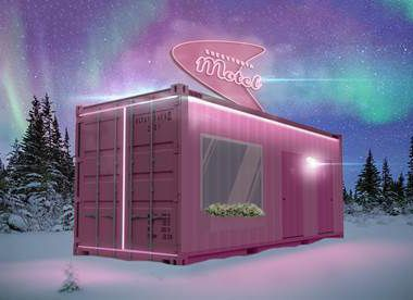 Sweet Tooth Motel will bring an immersive art experience to Watters Creek in Allen from Dec. 5 through the holidays.