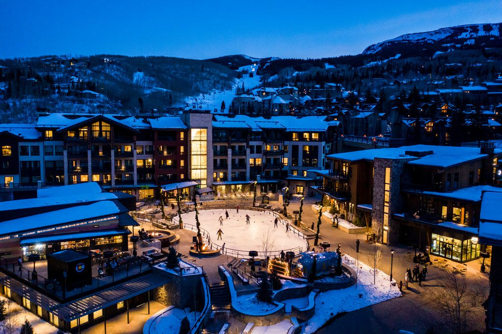 The chic $600 million base village that opened in mid-December is already transforming Snowmass.