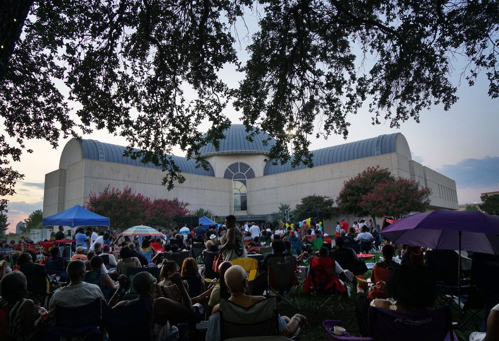 The 4th Annual Fair Park Blues & Jazz Festival outside the African American Museum in Fair Park last September
