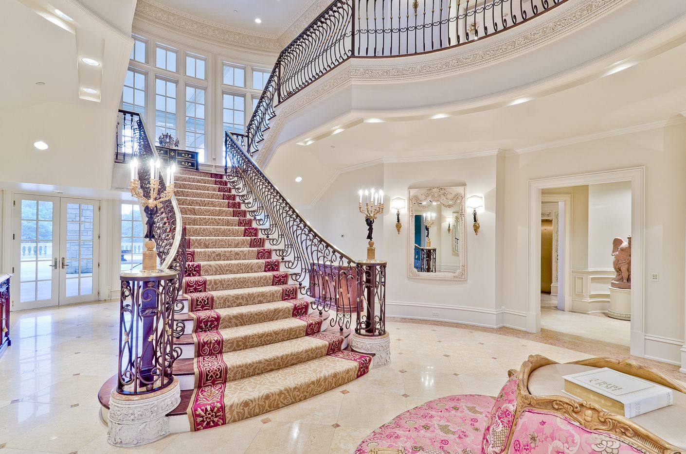 The Champ d'Or mansion took five years to plan and build.