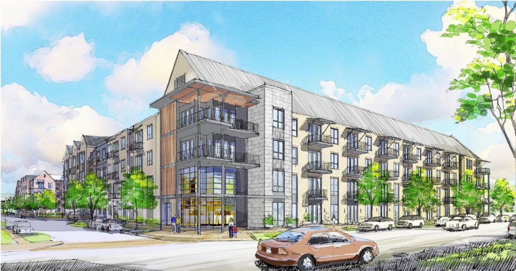 Developer StreetLights Residential and Stonelake Capital Partners are planning hundreds of apartments, retail and homes on a 25-acre old industrial property west of downtown Dallas. The tract is on Singleton Boulevard just west of Sylvan Avenue.