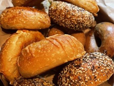 """Dan's Bagels is now open in Trophy Club. Dan makes his bagels during a 48-hour process using """"all natural"""" ingredients, including malt syrup. There are very few details of this process that he shares."""