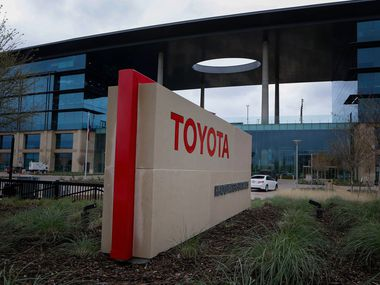 Toyota, which has won $ 40 million in state incentives, has already met its hiring and investment targets at its Plano headquarters - and more.  (Nathan Hunsinger / The Dallas Morning News)
