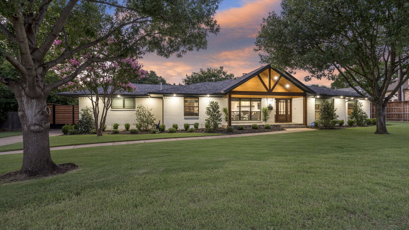 A look at the property at 3971 Merrell Road in Dallas.
