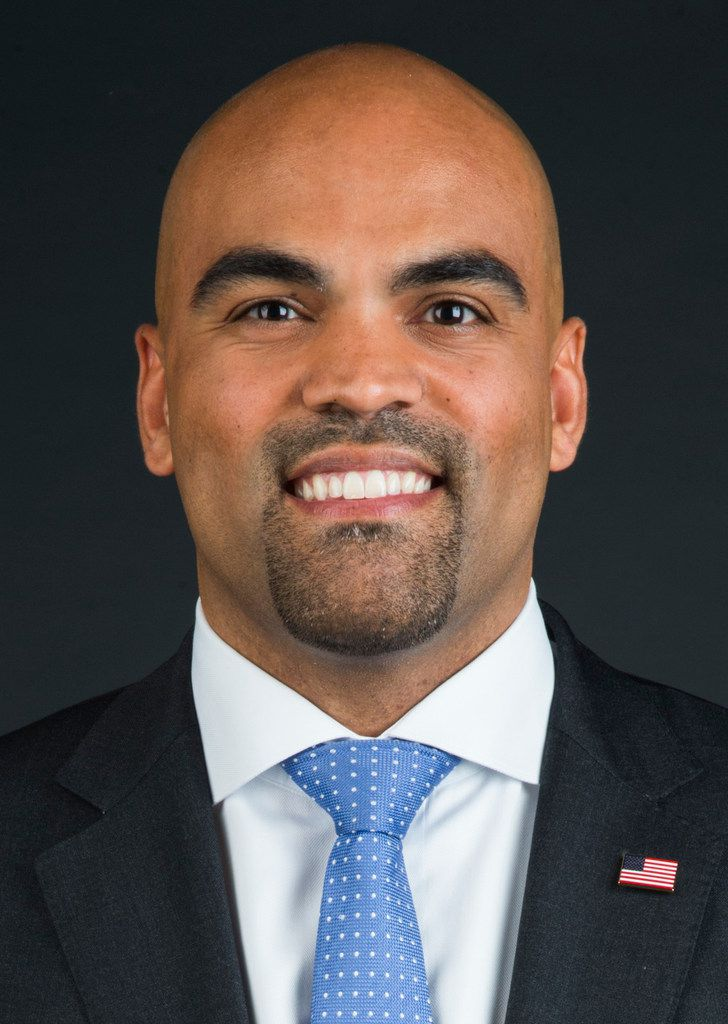 Congressman-elect Colin Allred, as photographed in The Dallas Morning News photo studio, on Wednesday, November 7, 2018 in Dallas. (Ashley Landis/The Dallas Morning News)