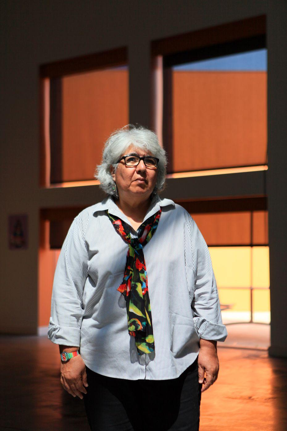 Viola Delgado es una las artistas más reconocidas de Dallas.