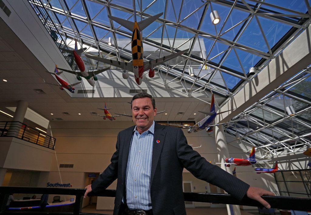 Southwest Airlines president Tom Nealon in 2017.