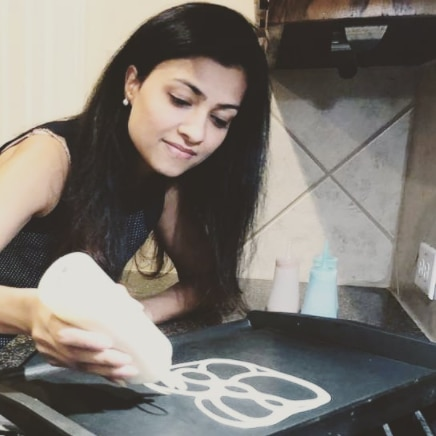 Aanchal Gupta founded PANKY Doodle amid the pandemic. The Allen resident creates pancake art and delivers all across North Texas.