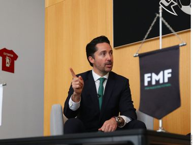 Yon de Luisa, president of the FMF, is pictured here in 2020.