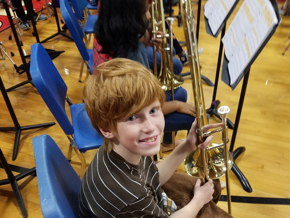 Carson Dyke, pictured at age 11 in a photo taken in fall 2016.