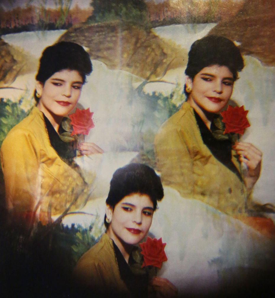 A photo of Manuela Dominguez, who was slain in January 1996.