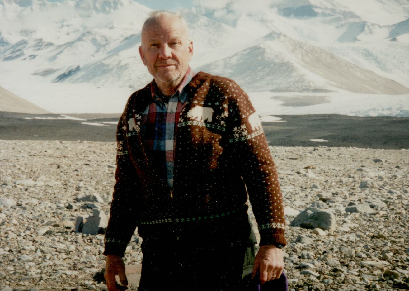 Robert H. Rutford, a former president of the University of Texas at Dallas, was a longtime polar explorer in Antarctica. The geologist visited the continent at least 30 times and has a mountain named after him there. Rutford passed away Dec. 1, 2019. He was 86.