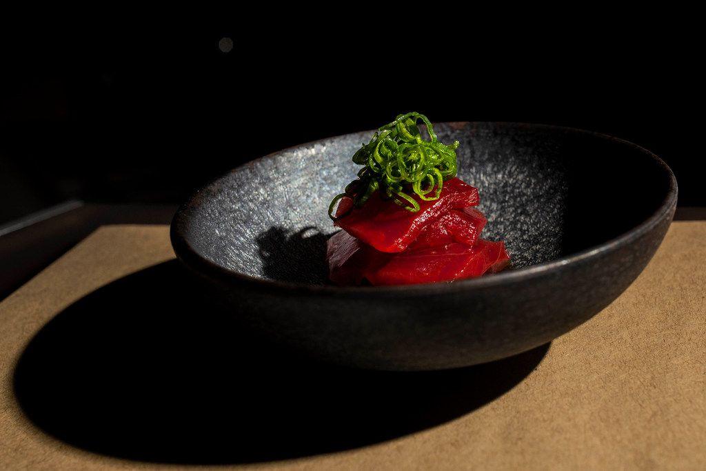 Tuna sashimi at Namo