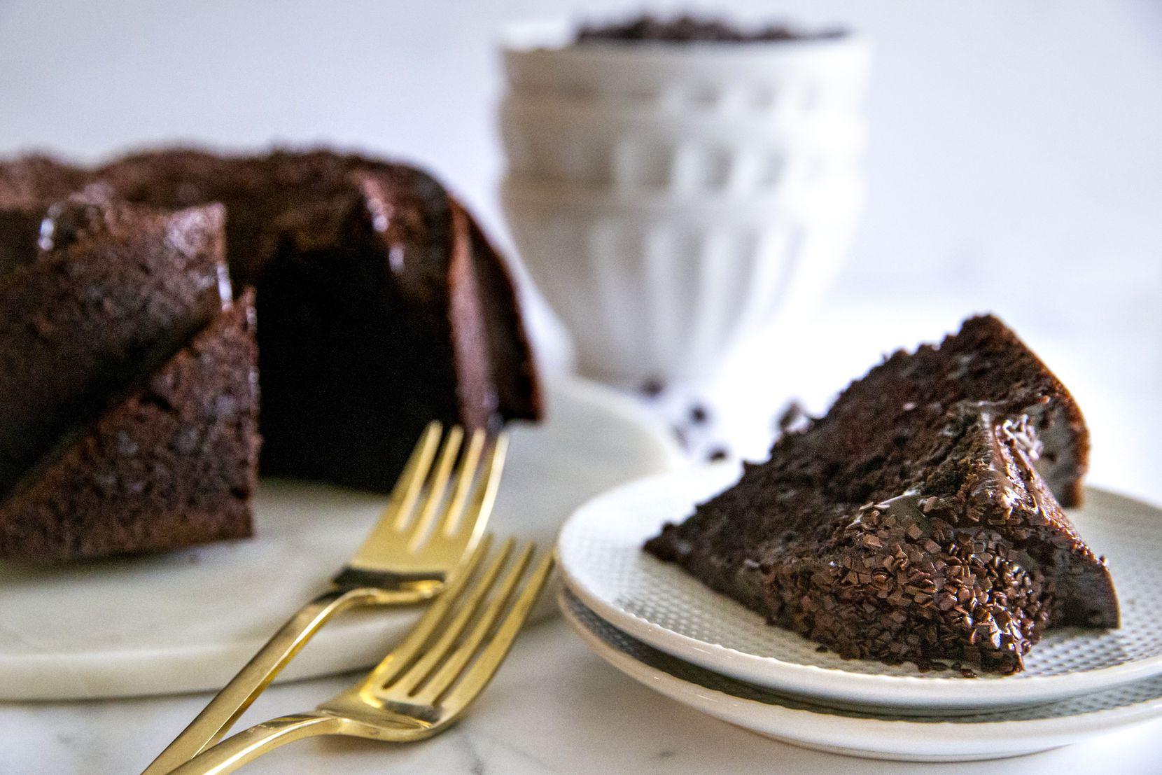 Gluten-Free Chocolate Chip Bundt Cake