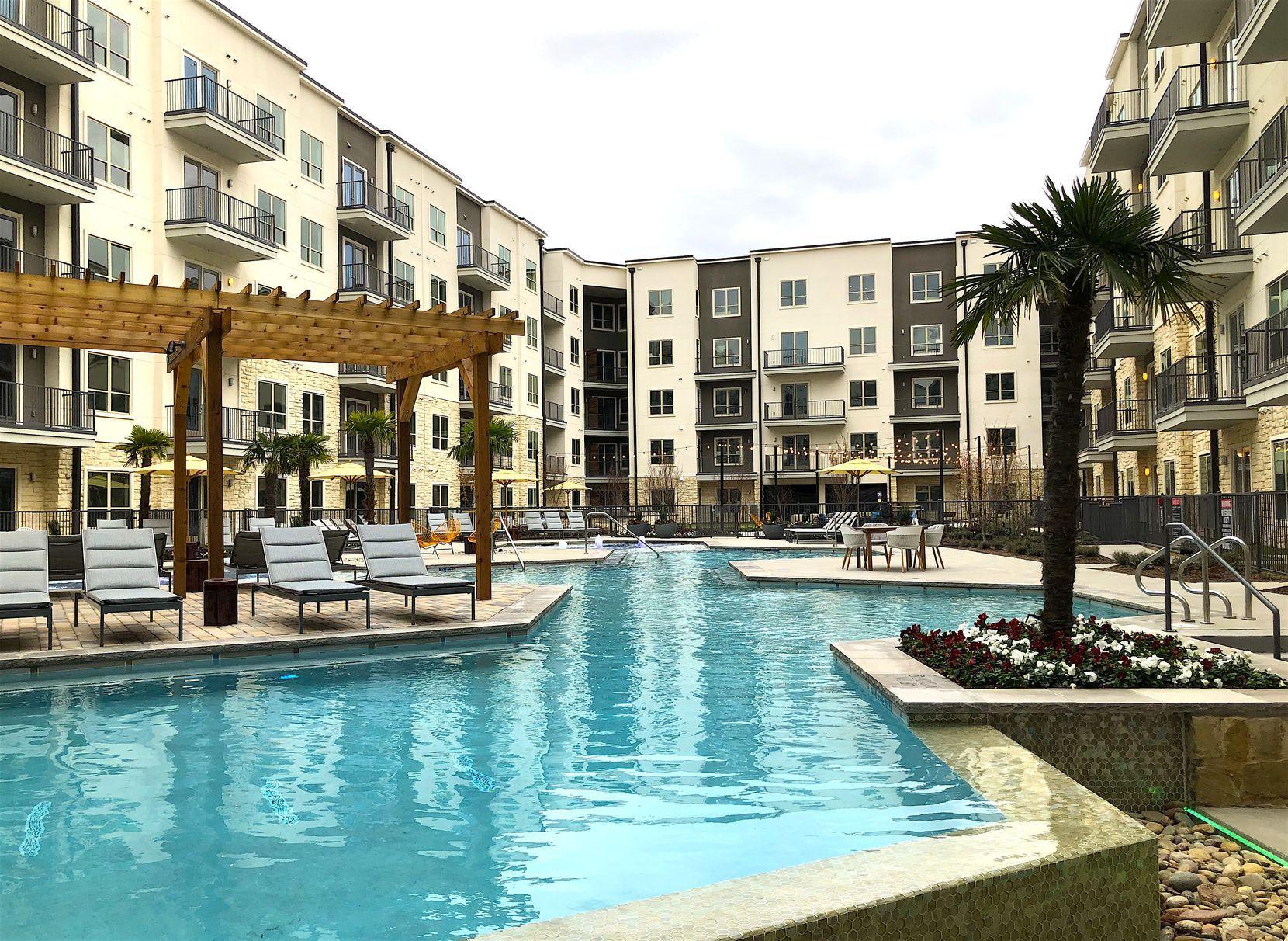 The Jefferson Promenade apartments are in Las Colinas.