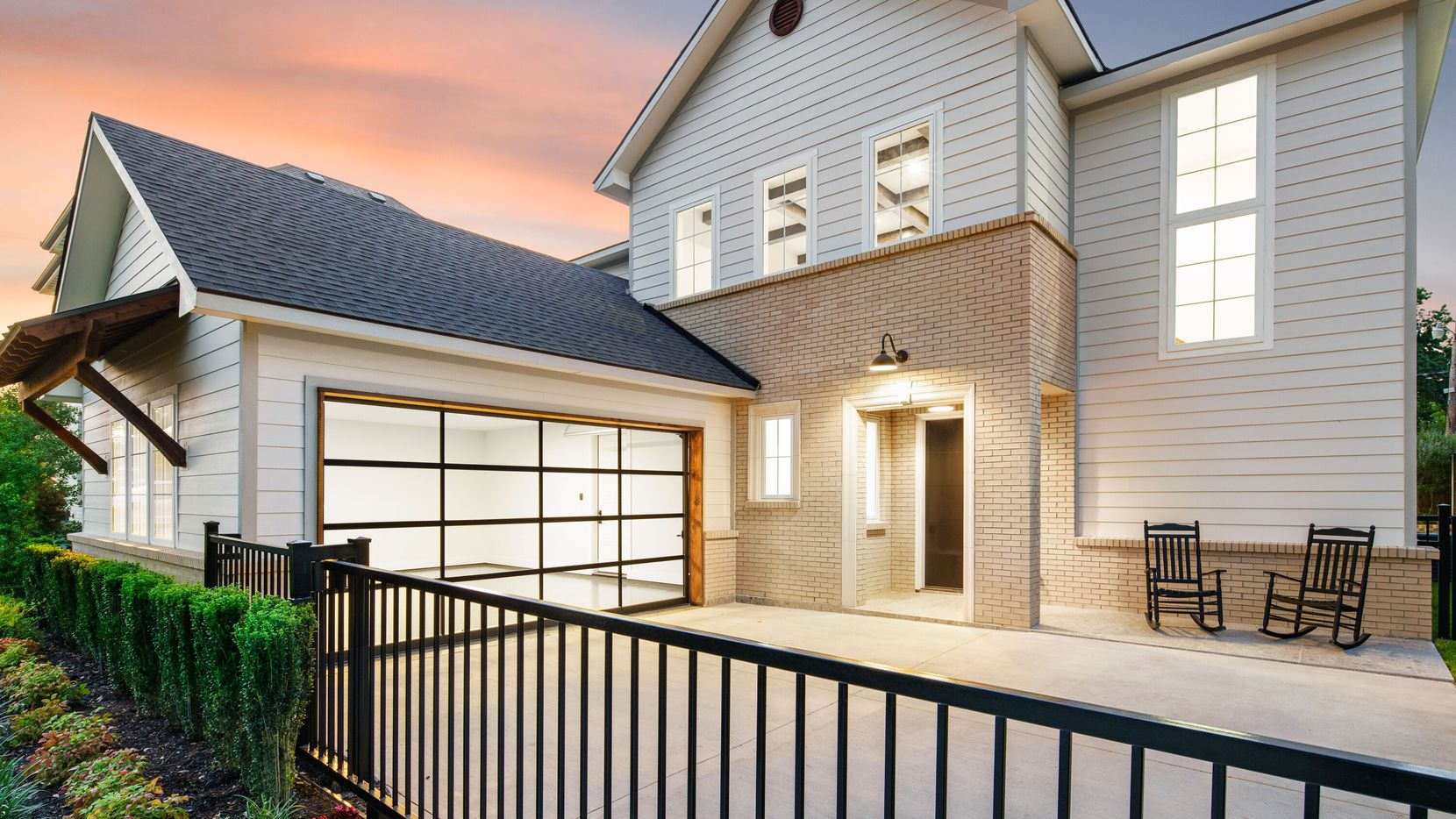 Take a look at the exterior of the home at 3935 Lively Lane in Dallas.