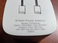 Every USB charger has some small print to tell you how much power is provided.